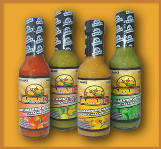 Mayanik Habanero Pepper Hot Sauces